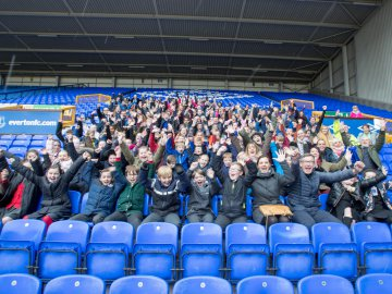 Football clubs help celebrate Safer Internet Day 2018