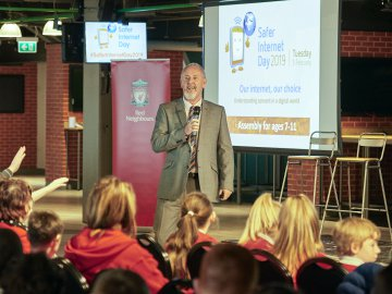 Recap: Safer Internet Day at Liverpool Football Club