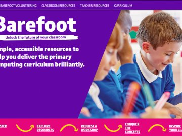 Barefoot gets a new website and a fantastic new resource!