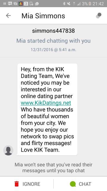 online dating på kik dating sites barcelona