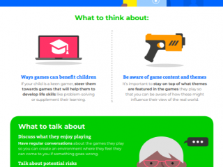 Gaming guidance for pre-teens (Internet Matters)