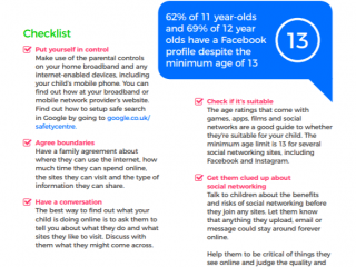 Online safety guide for parents of 11-13 year olds (Internet Matters)